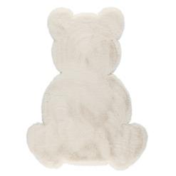 Matto Teddy valkoinen 67x90 cm 4Living