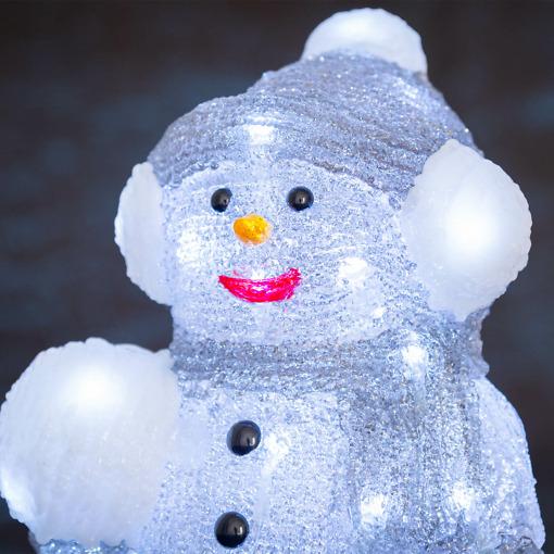 led valosarja lumiukko