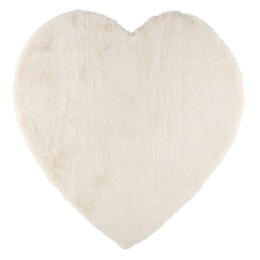Matto Sydän valkoinen 80 cm 4Living