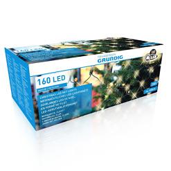 Valoverkko sisä- ja ulkokäyttöön 160 LED Grundig